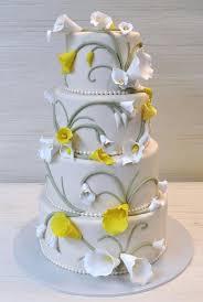 wedding cake gum extraordinary 5 tier wedding cake with ruffled gum paste