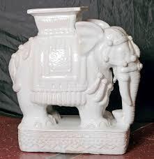 elephant end tables ceramic elephant end tables ceramic home design ideas