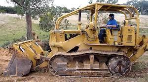international harvester 175b track loader youtube