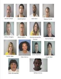 halloween city middletown ohio drug sweep nets 14 arrests in butler county
