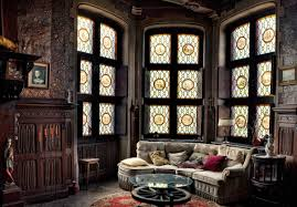 majestic victorian living room design with decorative bay window