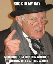 Funny Money Meme - there was a time when
