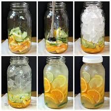 membuat infused water sendiri infused water tren sehat dengan air sari buah