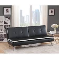 canape convertible noir et blanc magnifique pegase canapé convertible à mémoire de forme noir