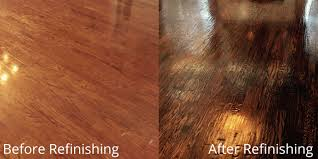 Refinished Hardwood Floors Before And After Pictures by A Recent Hardwood Floor Refinish Client In Fort Worth