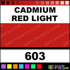 cadmium red light artist oil paints 603 cadmium red light