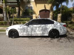 matte white bmw 328i post your f30 tint pics