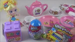 shopkins diy tea set shopkins surprise egg shopkins qube kids