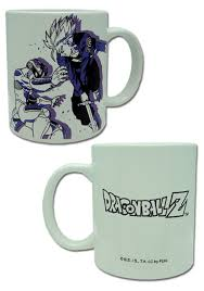 dragon ball z mecha frieza vs trunks mug