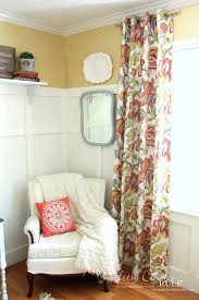 Easy No Sew Curtains How To Make No Sew Curtains With Grommets Artsy Rule