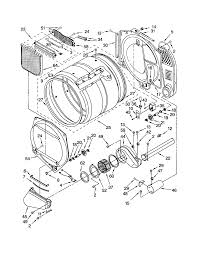 diagram dryer gas kenmore blow drying