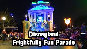 disneyland halloween frightfully fun parade 2016 full