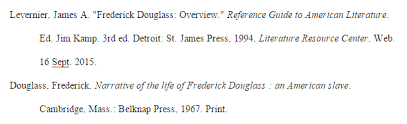 Soapstone Analysis Example Fredrick Douglass