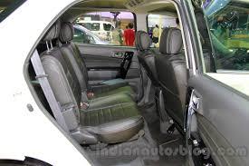 daihatsu terios trunk space daihatsu terios spirit rear seat at the 2014 indonesia