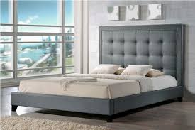 grey upholstered headboard queen modern house design awesome