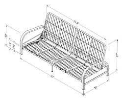 mainstays metal arm futon assembly instruction bm furnititure