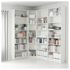 White Corner Bookcase Stylish Billy Bookcase White Ikea White Corner Bookcase With Doors