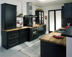 lapeyre plan de travail cuisine cuisine bistro noir vieilli de lapeyre cuisine grise et plan de