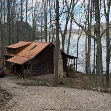 Hocking Hills Cottage Rentals by Gorgeous Hocking Hills Lake Front Cabin Homeaway Logan