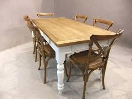 dining table reclaimed oak farmhouse dining table farmhouse
