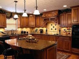 What Color To Paint Kitchen With Oak Cabinets by Golden Oak Cabinets Enhanced With Mahogany Gel Stainkitchen Paint