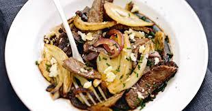 cuisine au wok facile recette wok de bœuf au fenouil et au chèvre