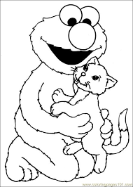 sesame street coloring pages toddler image free sesame street