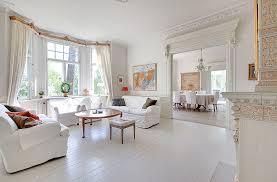 white villa in sweden interior design files