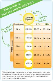 what is the difference between led and incandescent light bulbs compare wattage energy and brightness lumens of incandescent