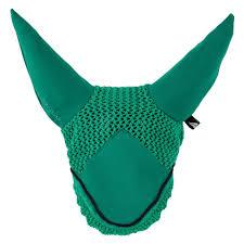 Shamrock Green Fly Veil Horsewear Donnadiva Equestrian