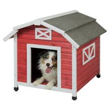 dog barn 2 precision pet barn dog house for large dogs old red ebay