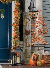 outside fall decorating ideas improvements