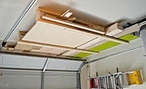 a u2013 garage design drive hanging storage diy overhead ideas build