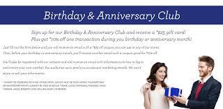birthday u0026 anniversary club sissy u0027s log cabin fine jewelry