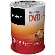 sony recordable storage dvd r pack of 100 100dmr47sp us b u0026h