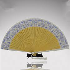 fans wholesale top fashion leques japoneses bamboo folding silk fans