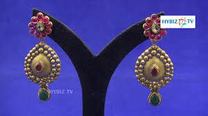 malabar earrings kundan gold earrings design malabar gold and diamonds