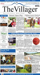 the villager ellicottville sept 24 30 2015 volume 10 issue 39 by