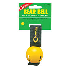 amazon com coghlan u0027s bear bell with magnetic silencer blue