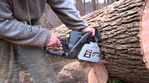 20 inch craftsman chain saw youtube