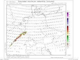 Map Of Germany And Poland by Severe Weather Outbreak Across E France Into Central Germany And W