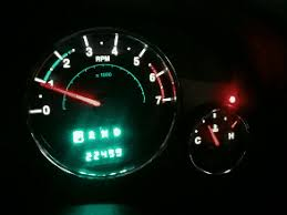 jeep wrangler dashboard lights red blinking led above the temp guage while driving jeep