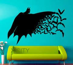 aliexpress com buy superhero batman movie poster dark knight pop aliexpress com buy superhero batman movie poster dark knight pop wall art sticker vinyl decal die cut nursery children kid room stencil mural decor from