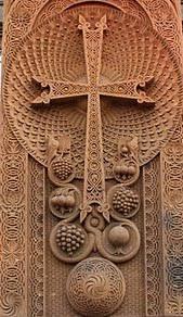 armenian crosses armenian khachkar cross placed in tomsk russia city