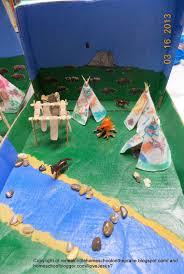 american diorama geography culture