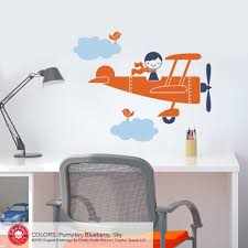 airplane wall decals roselawnlutheran airplane boy wall decal