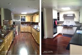 cabinet makeover kit kitchen remodel before and after wall removal