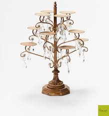 chandelier cupcake stand opulent treasures chandelier 12 cupcake stand opulent