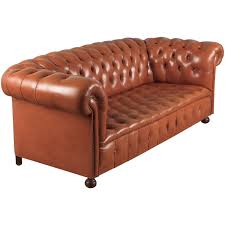 vintage leather chesterfield sofa for sale chesterfield furniture 154 for sale at 1stdibs
