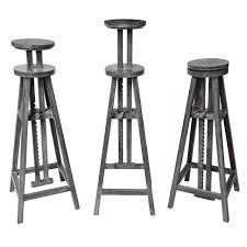 Contemporary Pedestals Adjustable Height Contemporary Sculpture Stand For Sale At 1stdibs